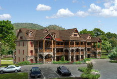 """The Overlook Condominiums"" at Old Mill Golf Resort, Laurel Fork, Va"